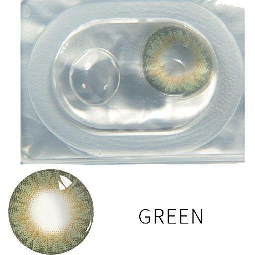 Ceanfly Ein Paar Farblinsen Kontaktlinsen Farbig Natürliche Jahreslinsen für Big Eyes | Bunte Contact Lenses farbig viele Farbe