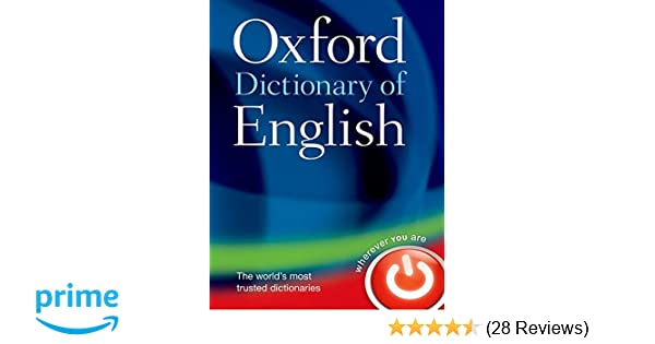 Buy Oxford Dictionary of English Book Online at Low Prices in India on