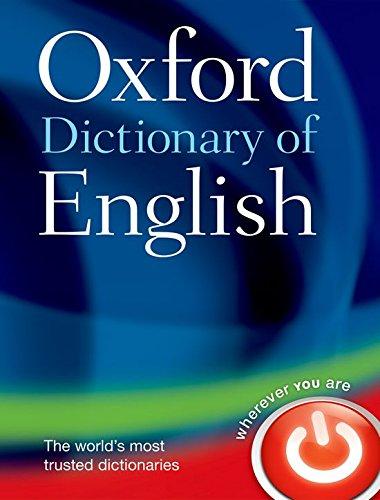 Oxford Dictionary of English - Englisch übersetzung Oxford