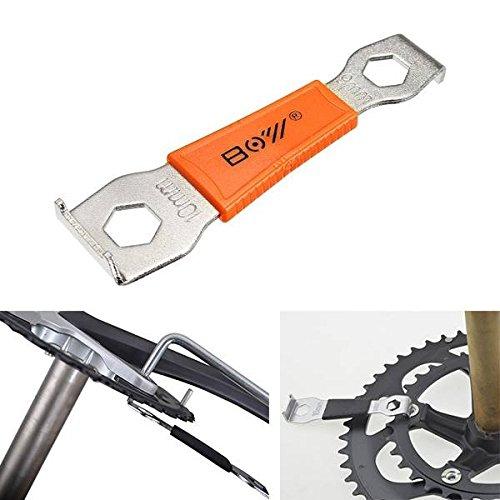 Bazaar MTB Straßen Fahrrad Kurbeln Schlüssel Schlüssel Werkzeug Schrauben Nail Bolt Demontage Fixing Puller 9mm 10mm