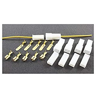 Tama Kabel/Draht-Multi-Stecker, 1 Weg Crimp Terminals (5 Set männlich/weiblich)
