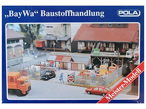 modellbahn-exklusiv BayWa Baustoffhandlung Pola 845, Spur H0, 1:87
