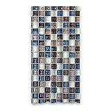 DOUBEE Haltbarer Fliesen Mosaik Wasserdicht Polyester Duschvorhang Shower Curtain 90cm x 183cm