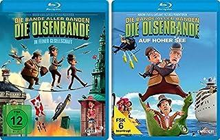 Die Olsenbande in feiner Gesellschaft + Die Olsenbande auf hoher See - 2 Blu-rays im Set - Deutsche Originalware [ 2 Blu-rays]