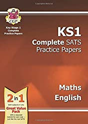 New KS1 Maths & English SATS Practice Papers Pack - for the 2016 SATS and Beyond: Maths, Reading and Spelling