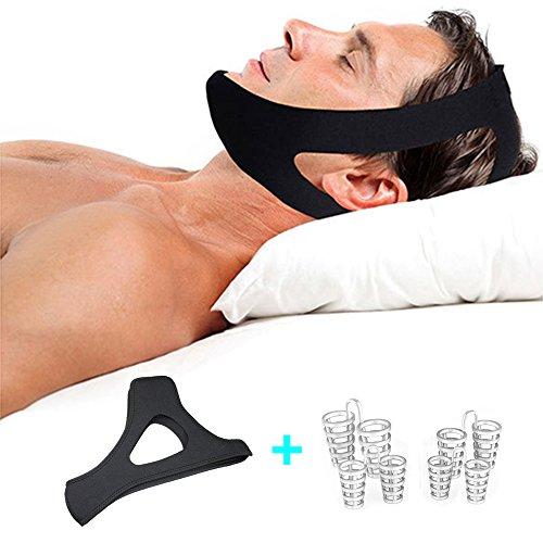 Phcomrich russare soluzione anti-russamento, valvole, anti russare naso con riduzione il russamento anti-russamento Chin Strap, sonno aiuti dispositivi per uomini e donne