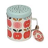dotcomgiftshop Schüssel Vintage Apple Design Mehl Shaker