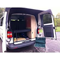 Kiravans Barn door awning compatible with VWT5 and VWT6 FIts both European and UK vans Without Spoiler 17