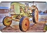 Fendt Traktoren HDR Deko Motiv Blechschild Tin Sign