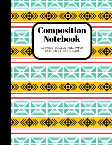Composition Notebook: 100 Pages, One Subject Daily Notebook, College Ruled