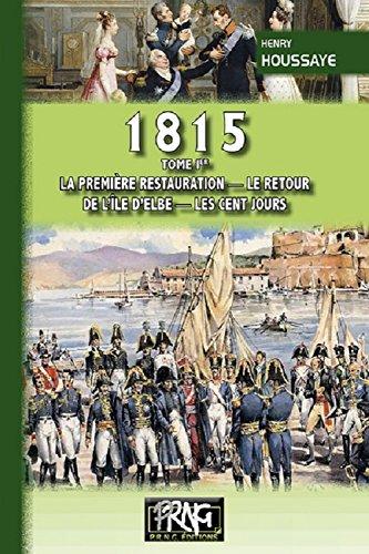 Les Cent Jours [Pdf/ePub] eBook