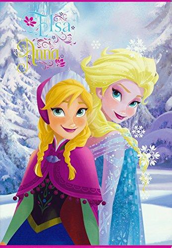 Disney frozen - anna ed elsa - quaderno maxi a4 rigatura a
