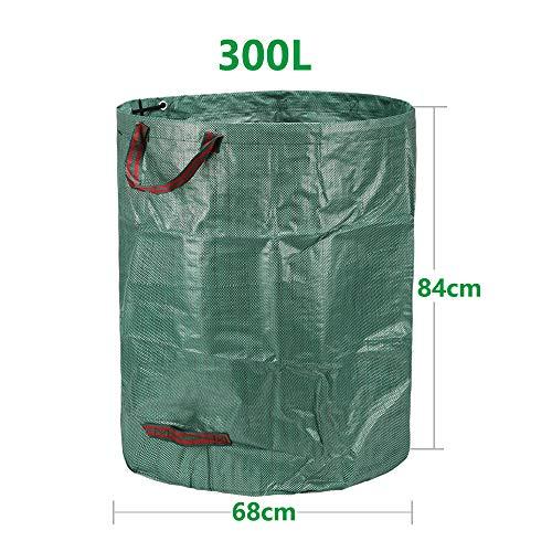 Zoom IMG-1 3x 300l sacchi da giardinaggio