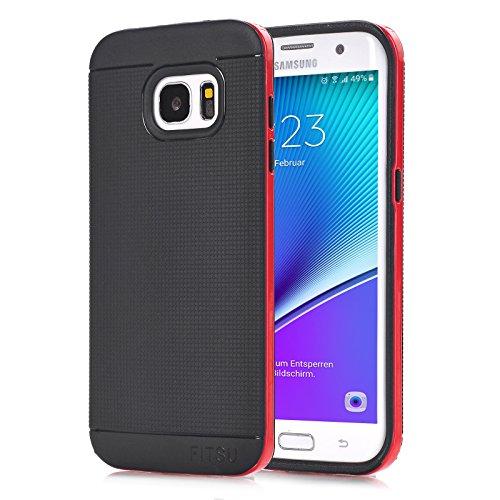 Fitsu TPU Case (iPhone 6 Plus / 6s Plus, Blau) Rot