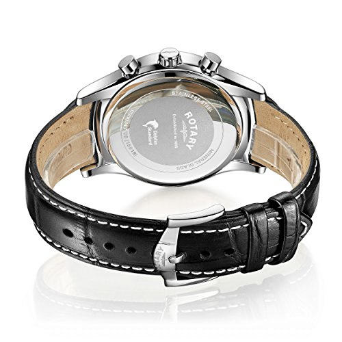 Rotary-Mens-Quartz-Watch-with-White-Dial-Chronograph-Display-and-Black-Leather-Strap-GS0034706