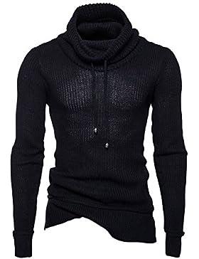 Il primo insieme di tessuti lavorati a maglia Shirt autunno e inverno uomini maglione magazzino per il tether...