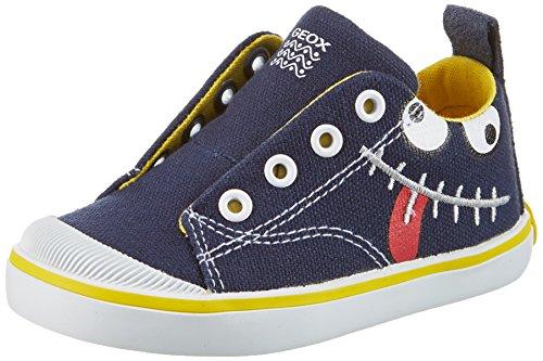 Geox Baby Jungen B Kiwi Boy A Lauflernschuhe Blau (Navy/Yellowc0657)
