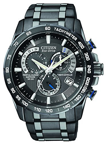 Citizen-Mens-Eco-Drive-Chronograph-Watch-with-a-Black-Dial-and-a-Stainless-Steel-Bracelet