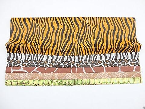 Safari / Animal Design Tissue Paper - Gift Wrap Collage Picture Decorations - Sheets: 12