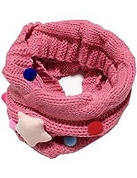 544cc864dd6e GXY - Écharpe mignon pour enfant et bébé Laine tricotée Tour de cou Foulard  Étoile Collier