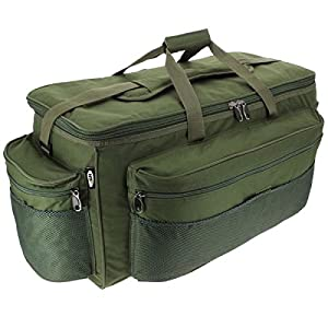 XXL Green Carp Fishing Tackle Bag Holdall NGT 093L BARROW BAG from NGT