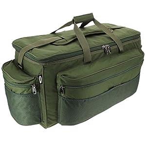 XXL Green Carp Fishing Tackle Bag Holdall NGT 093L BARROW BAG from NGT