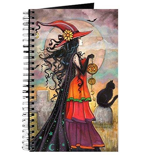 Halloween Hexe Art - Spiralgebundenes Tagebuch, persönliches Tagebuch, blanko ()