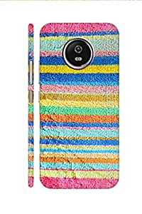 AMAN Towel Pattern 3D Back cover for Moto G5