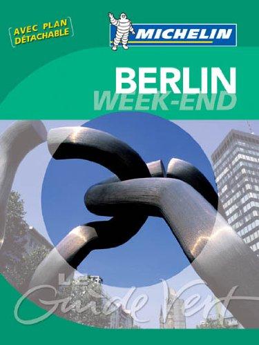 Guides verts Michelin week-end Berlin