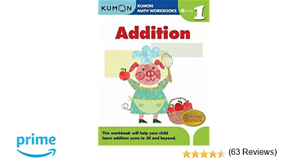 Addition Grade 1 Kumon Math Workbooks Amazoncouk Michiko – Kumon Addition Worksheets