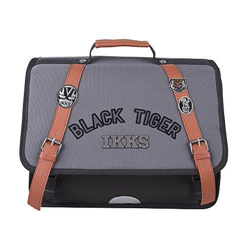 Cartable 38 Ardoise IKKS Black Tiger