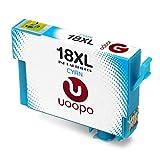 Uoopo Ersatz für Epson 18XL 18 Druc...