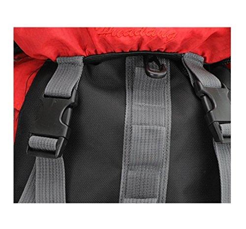 Z&N Capacità 40-50L Nylon Impermeabile Di Alta Qualità Zaino Da Montagna All'Aperto Unisex Viaggio Multiuso Zaino Da Arrampicata Borse Multi Sacco Borsa Per Studenti A 40-50L A