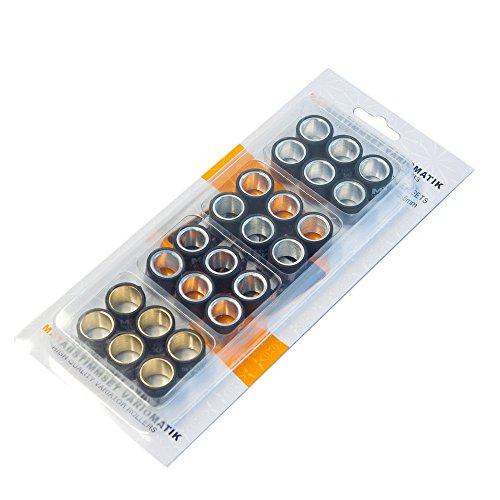 Tuning Set variomatik Maxtuned 19x15.5mm-4,0gr-4.5g-5,0gr-5,5gr 15.5