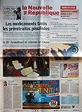 Telecharger Livres NOUVELLE REPUBLIQUE LA N 19123 du 25 09 2007 INDRE ET LOIRE COLLECTIVITES LOCALES ECOLES ET FACS AU PRIX FORT LES MEDICAMENTS TAXES LES PRERETRAITES PENALISEES SECURITE SOCIALE A10 BROUILLARD ET VITESSE EN CAUSE POITIERS EDITORIAL PAR HERVE CANNET MAREE ROUGE INDRE ET LOIRE GRANDS CHANTIERS L AUTOROUTE AVANCE IKEA PREND SIX MOIS DE RETARD INDRE ET LOIRE OPERATION DE CONTROLE LES GARDES CHASSES FONT LE MENAGE 20 KM DE TOURS RETROUVEZ TOUS LES RESULTATS ET CLASSEMEN (PDF,EPUB,MOBI) gratuits en Francaise