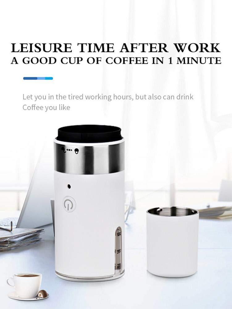 NAKELUCY-Tragbare-automatische-Kaffeemaschine-Amerikanische-304-Edelstahl-Kaffeekanne-Kapsel-Kaffeemaschine