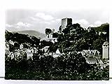 AK Wiesbaden-Sonnenberg, Blick zur Burg; ungelaufen