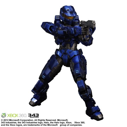 (Halo Combat Evolved: Play Arts Kai Spartan Mark V Red)