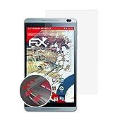 atFolix Schutzfolie passend für Huawei MediaPad M1 Folie, entspiegelnde & Flexible FX Bildschirmschutzfolie (2X)