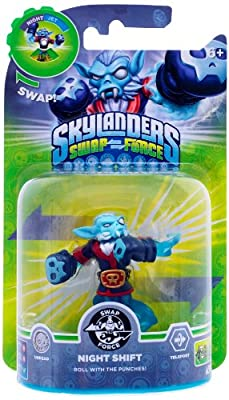 Skylanders Swap Force - Swappable Character Pack - Night Shift (Xbox 360/PS3/Nintendo Wii U/Wii/3DS) from Activision