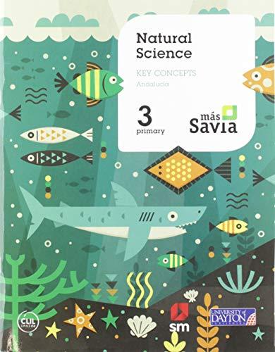 Ciencias de la naturaleza 3 Primaria Mas Savia Key Concepts Andalucía