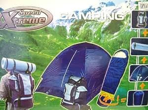 Xtreme vitesse 4 en 1 Kit de Camping (tente, sac de couchage, sac à dos, matelas 600-10106