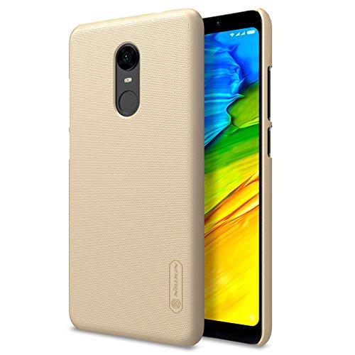 Funda Xiaomi Redmi 5 Plus, KuGi Antideslizante Protectora Case PC Protective Case Carcasa del Teléfono para Xiaomi Redmi 5 Plus(Oro)