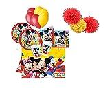 Decorata Party Kit de Fiesta de cumpleaños N.49 Disney Mickey Mo