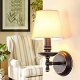 Rural Lampada da parete, posto letto, corridoio, soggiorno, camera da letto, sala da pranzo, lampada da parete, villaggio retrò, ferro Lampada da parete