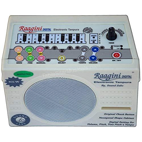 Raagini Digital Electronic Tanpura von Sound Labs Tanpura Tambura