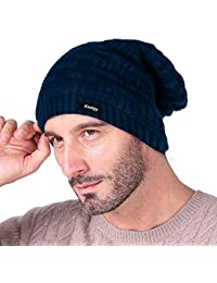 Knotyy Men's Cap (KNTY-CAP-BLU-B12_Blue_Free Size)
