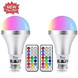 2er Farbige LED Leuchtmittel