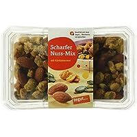 Tegut Scharfer Nuss-Mix mit Kürbiskernen, 125 g