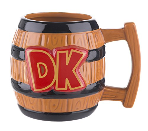 Official Paladone Nintendo Donkey Kong Shaped Mug